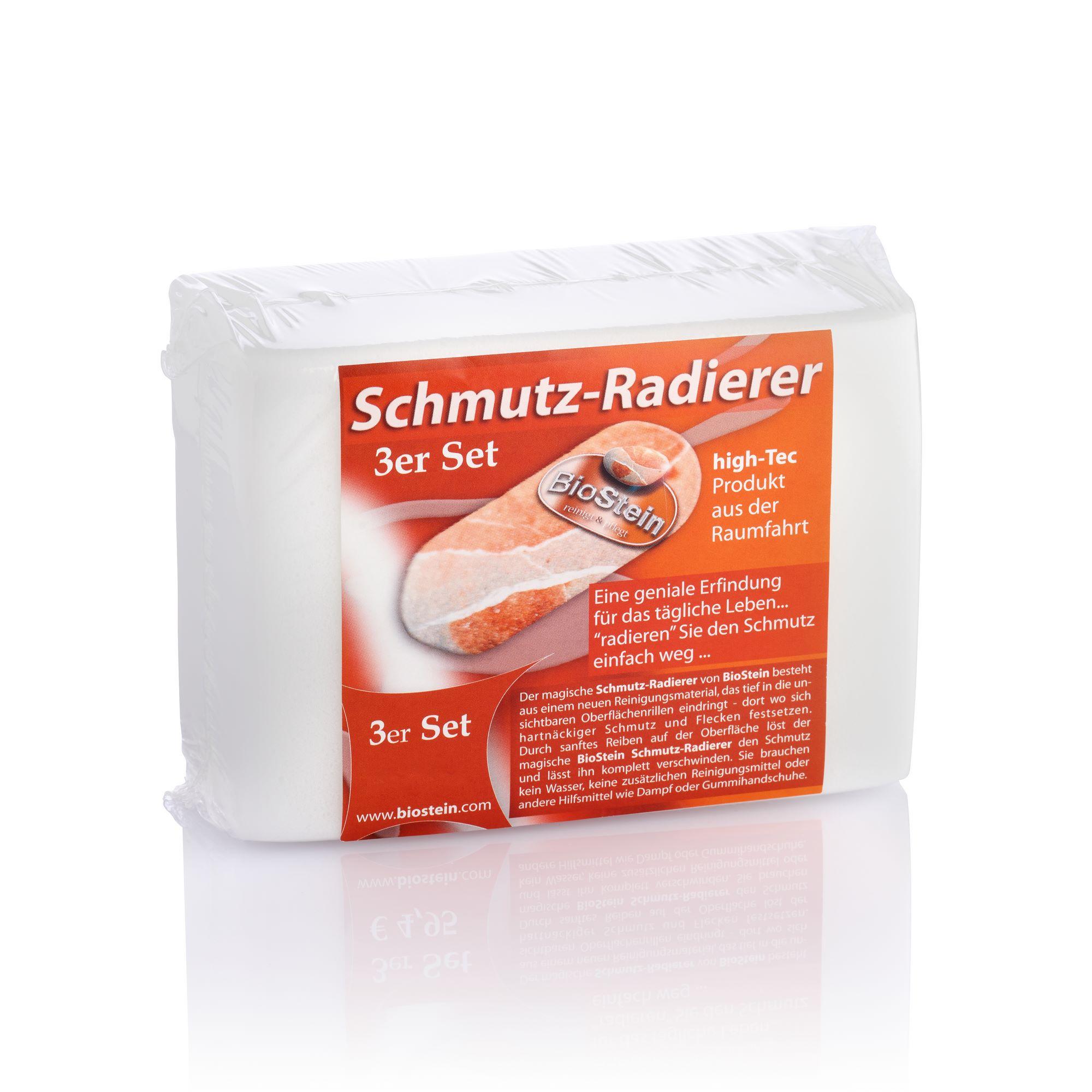 BioStein Schmutzradierer 3er Set